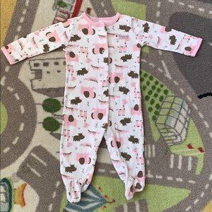 Carters Baby Girl Footie Sleeper Pajamas